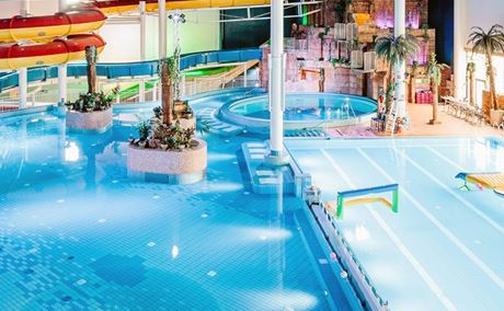 Flamingo Spa Aquapark i Helsingfors
